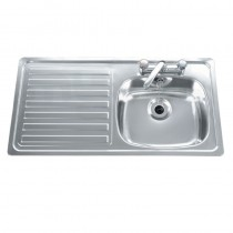 Carron Inset Sink SBSD R/H Drain & Waste