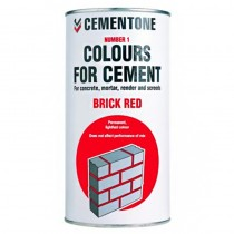 Cement Colour 1kg Tile Red