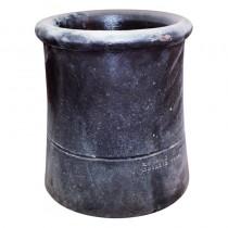 Chimney Pot No.1 450mm Rolltop Black