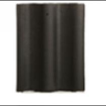 Concrete Flat Slate Tile 420x330mm Black