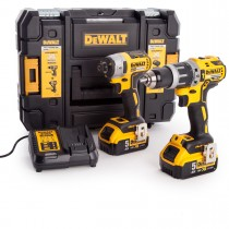 Dewalt DCK266P2 Twin Pack - Impact & Combi Brushless Twin C/W 2 x 5.0Ah Batteries