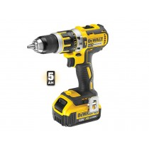 DeWalt 18V G2 Combi Drill DCD796P XR Brushless 1 X 5AH Li-ion Battery