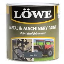 Lowe Metal & Machinery Paint Slate Grey 2.5ltr