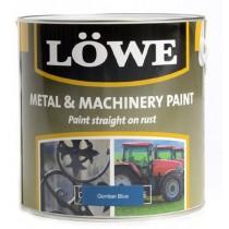 Lowe Metal & Machinery Paint Blue 250ml