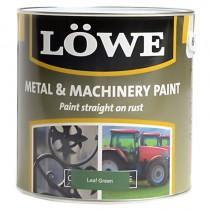 Lowe Metal & Machinery Paint Green 250ml
