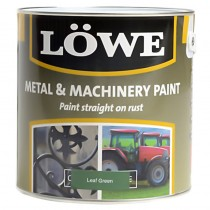 Lowe Metal & Machinery Paint Green 2.5ltr