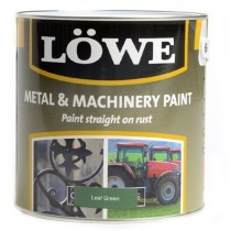 Lowe Metal & Machinery Paint Green 5ltr