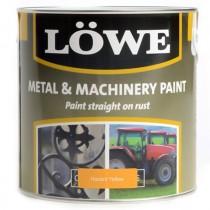 Lowe Metal & Machinery Paint Yellow 2.5ltr
