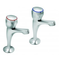 Profile High Neck Sink Taps Pair