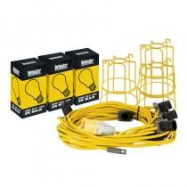 Defender 22m Festoon Kit c/ Guards & Bulbs 110v