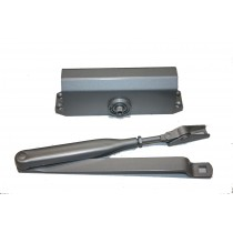 Door Closer 1/2 Hour Rated Silver