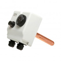 Dual Thermostat c/w Immersion Pocket