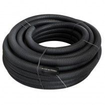"Ducting Coil 38mm (Outside diameter) 100m Black ""Telecom"""