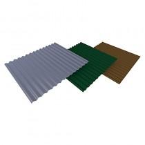 3Mtr Len 90x130x200mm Slate Grey Door Hood