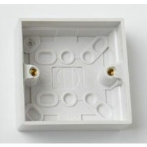 1 Gang 25MM Surface Pattress Box