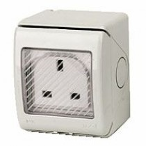 1 Gang Outdoor Socket IP55