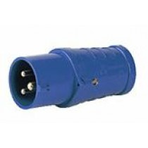 Outdoor Plug Blue 220V