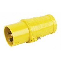 Outdoor Plug Yellow 110V