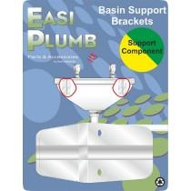 Cast Aluminium Basin Brackets Pair (22 x16 Basin)