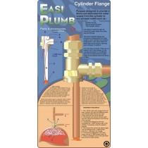 """Excel 3/4"""" Cylinder Flange Warix"""