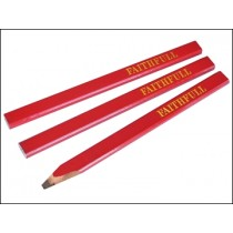 Carpenters Pencil (3 Per Pack)