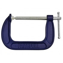 Faithfull/ G Clamp - Medium Duty 4in