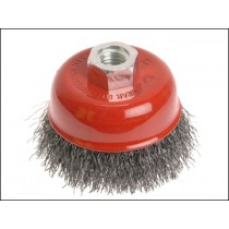 Wire Cup Brush 3""
