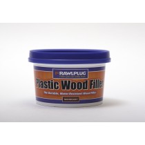 Rawlplug Plastic Wood Filler 250ml Mahogany