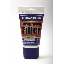 Rawlplug Plastic Wood Filler 100ml Oak