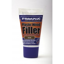 Rawlplug Plastic Wood Filler 100ml Teak