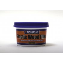 Rawlplug Plastic Wood Filler 250ml Teak