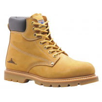 Portwest Welted Safety Boot SB  42/08 Honey Colour