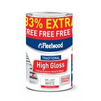 Fleetwood Gloss Brilliant White 2.5L: