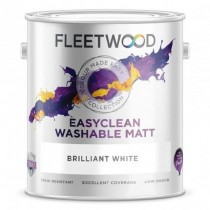 Fleetwood Easyclean Matt Brilliant White 10L