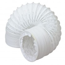 Flexi Vent Hose Net Bag 100mm x 1m PVC White