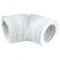 Flexi Vent Hose Net Bag 100mm x 3m PVC White