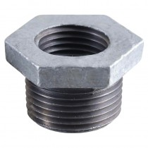 Galvanised Bushing 1x1/2""