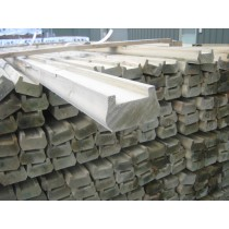 75 x 50mm x 5.4m Deck-Rail Treated (Green)damaged
