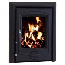 Henley Achill 6.6kw Insert Non Boiler Matt Black