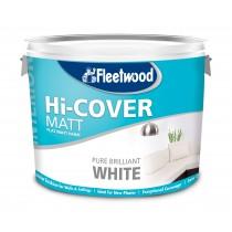 Fleetwood Ridgeway/Hi-Cover Supercover Matt Brilliant White 10L