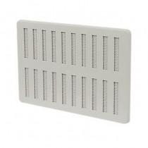 Hit & Miss Adjustable Vent 229mm x 229mm White