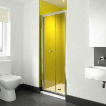 Image Solo Bifold 900mm Shower Door