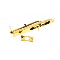 Flush Bolt 150mm Brass