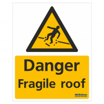 Fragile Roof Safety Sign