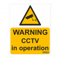 CCTV Safety Sign