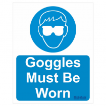 Goggles Safety Sign