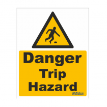 Trip Hazard Safety Sign