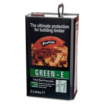 Construction Timber Preserver Tinted Green  5L