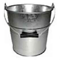 Galvanised Bucket 11""