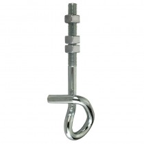 Safety Hook (2) For Swing BZP 12x180mm With Nuts ***